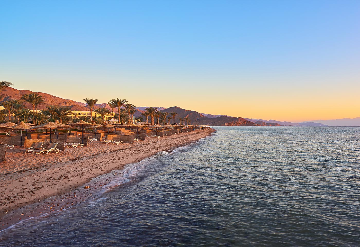 Sofitel Taba heights beach resort - Beach at morning - Mohamed Abdel-Hady Photography