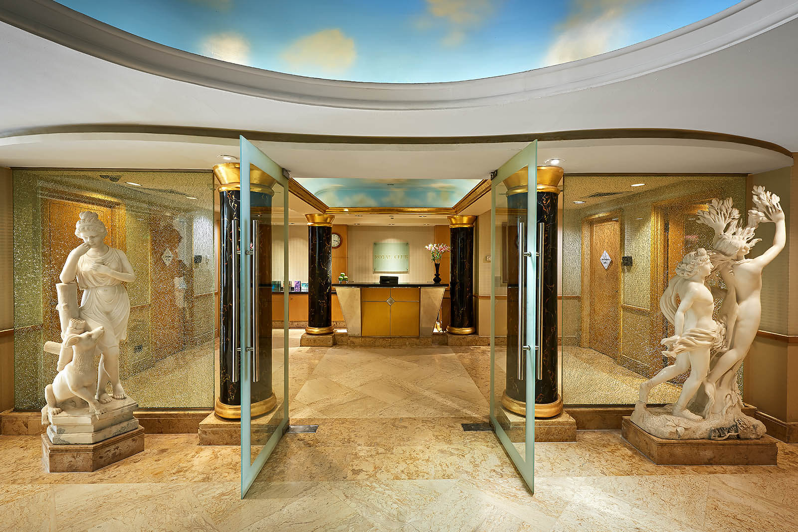 Royal Health Club entrance - Grand Nile Tower Hotel - Mohamed Abdel-Hady Photography
