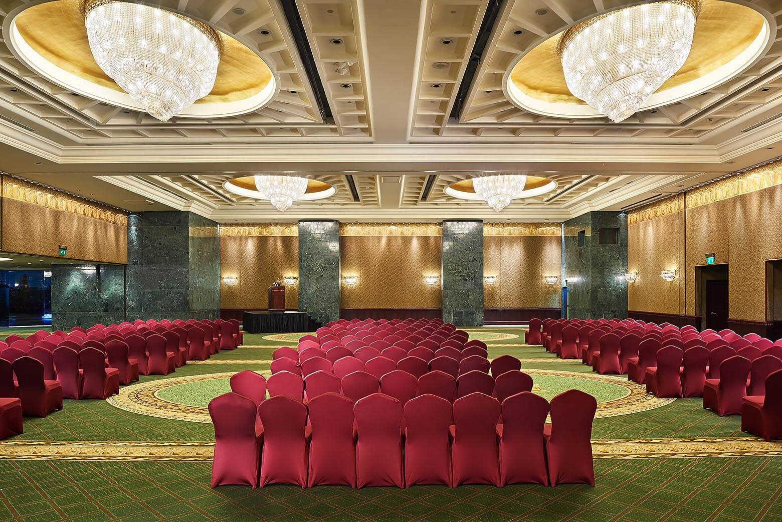 Farhaty ballroom Theater style - Grand Nile Tower hotel