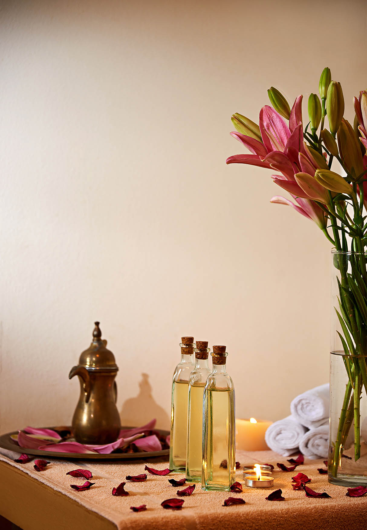 Massage Room Setup - Grand Nile Tower Hotel Cairo - Mohamed Abdel-Hady Photography