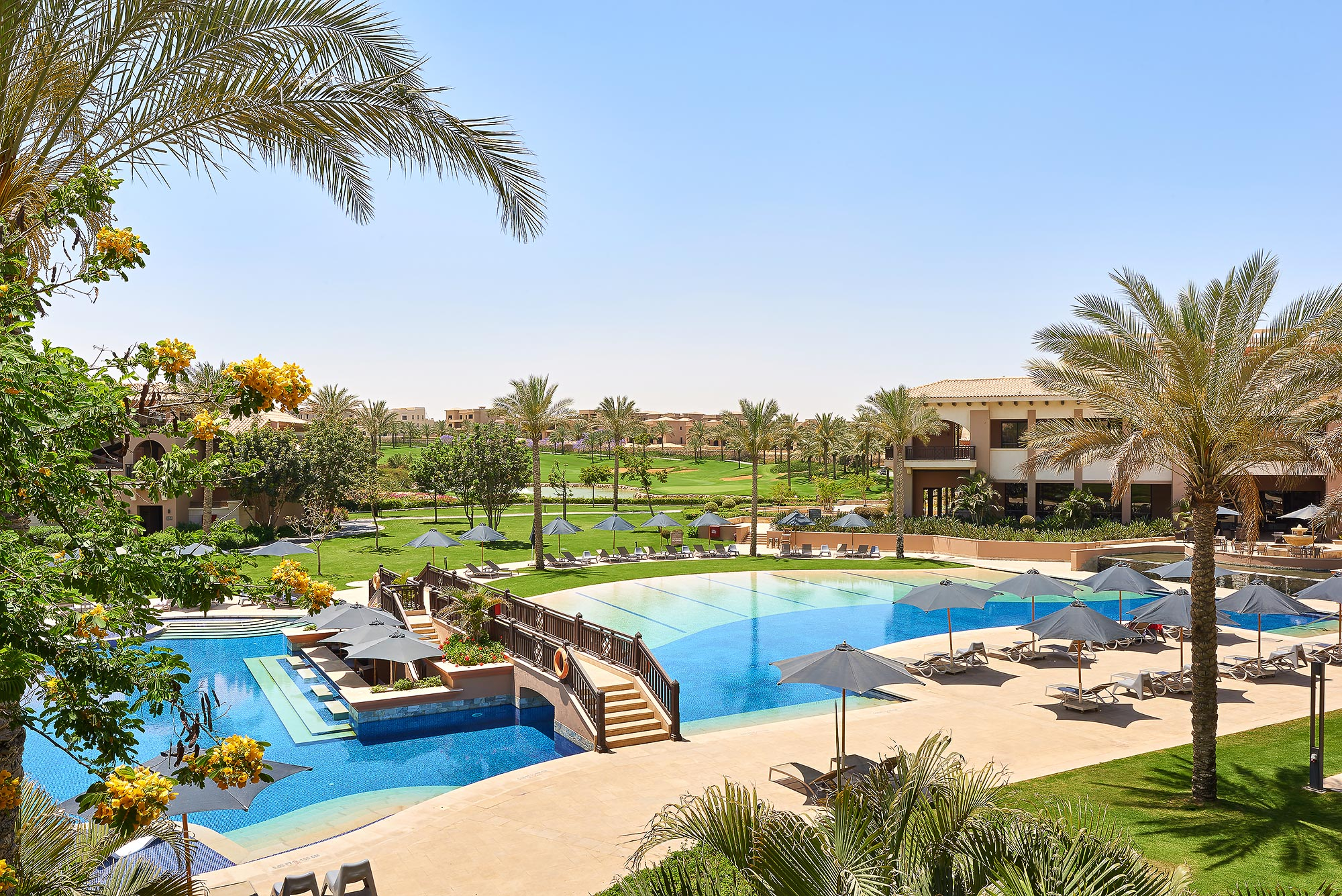 Balcony View - The Westin Cairo & Katameya Dunes Hotel