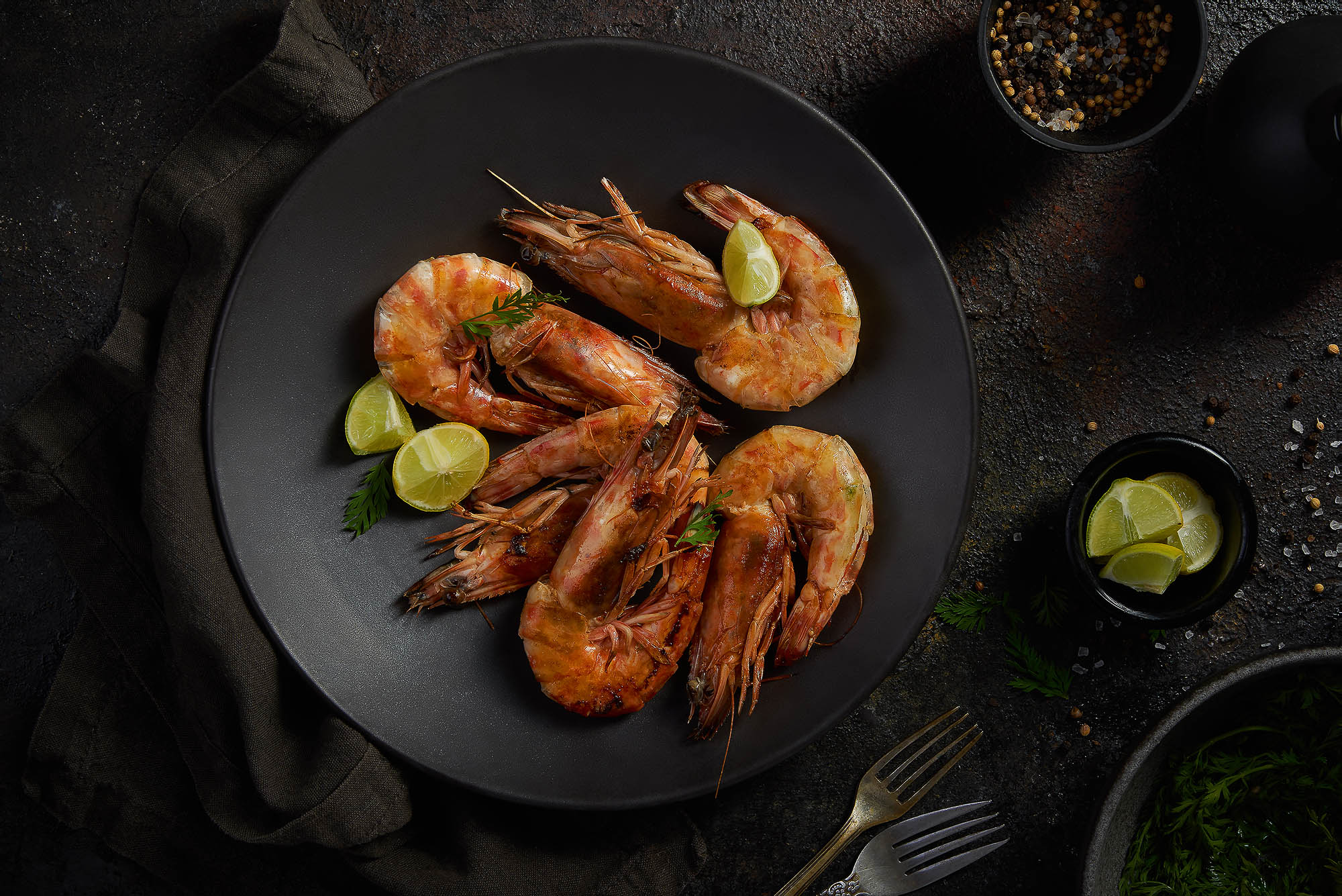 Grilled Shrimps - Souq El-Samak- mohamed abdel-hady photography