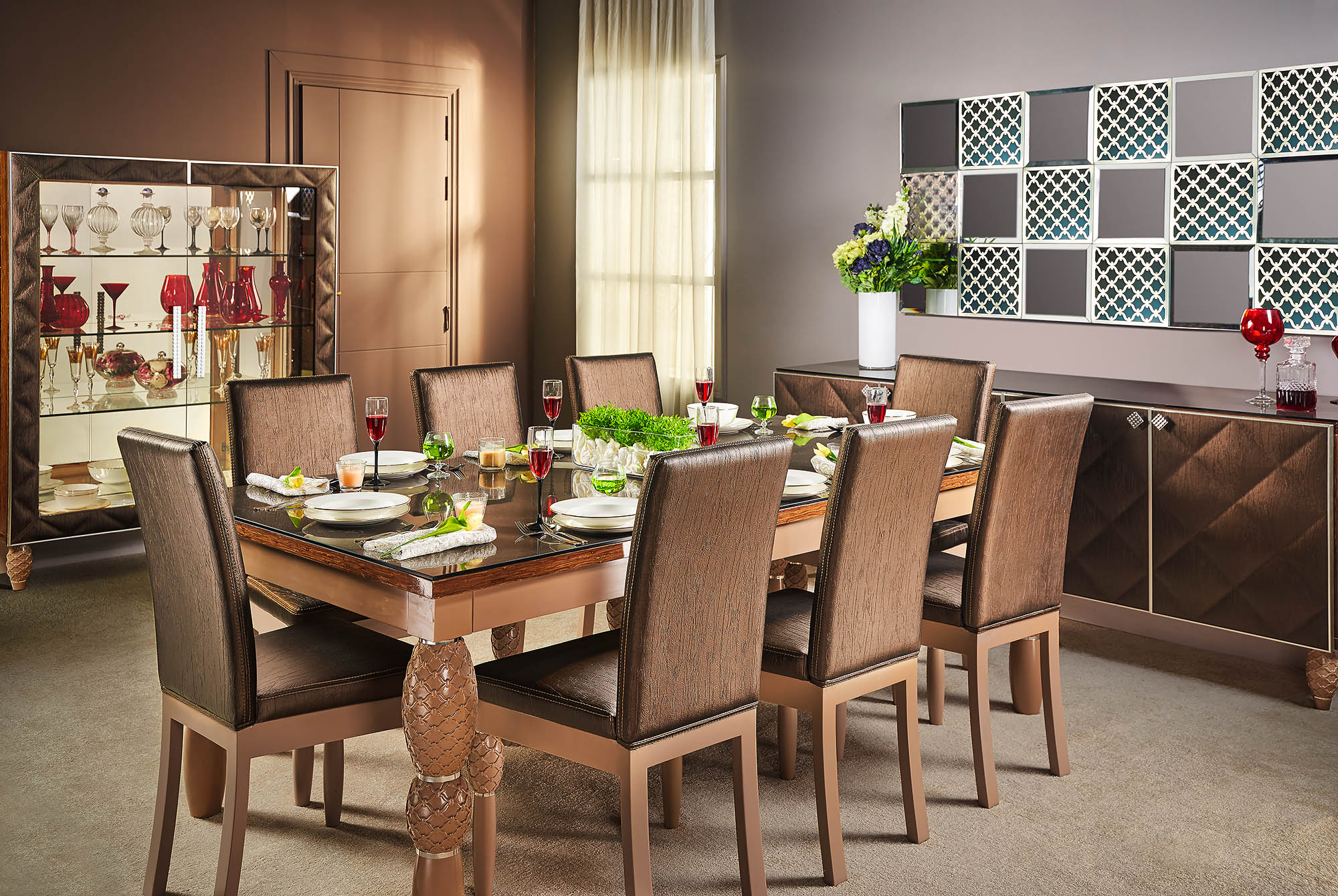 luxury dining room - Richie by shoulah - Mohamed Abdel-Hady Photography