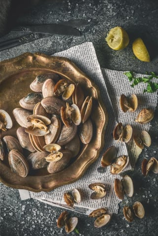 clams seafood - Mohamed Abdel-hady commercial food photographer