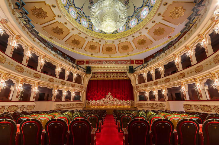 Interiors photography, Cairo, Egypt; The National theater.