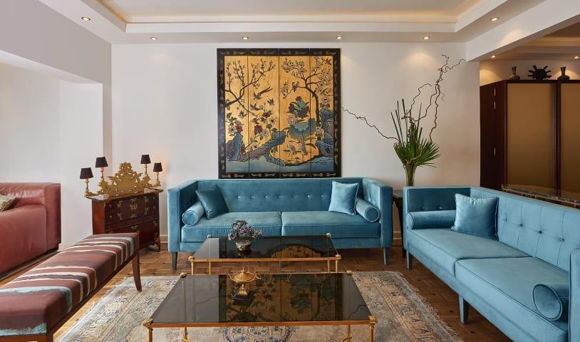 Living room - Nihal Zaki Interiors - mohamed abdel-hady photography