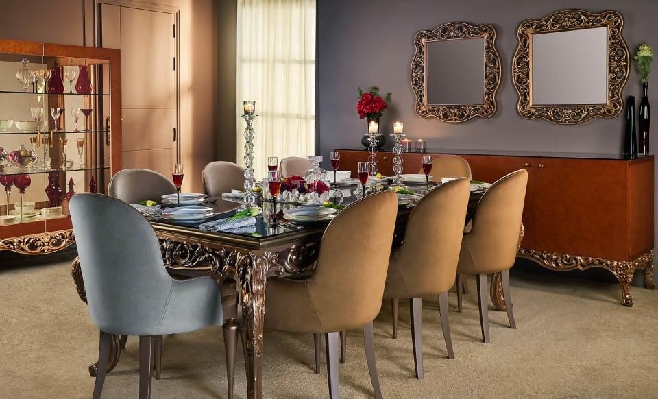 Luxury Dining Room - Richie By Shoulah - Mohamed Abdel-Hady Commercial Photographer - Egypt