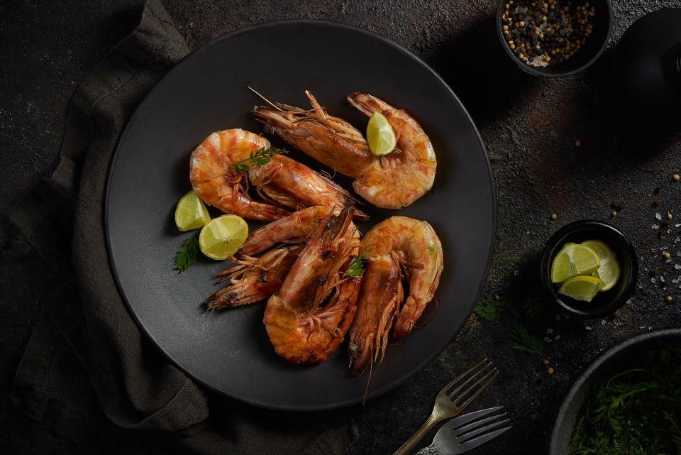 Grilled Shrimps - Souq El-Samak- mohamed abdel-hady photography