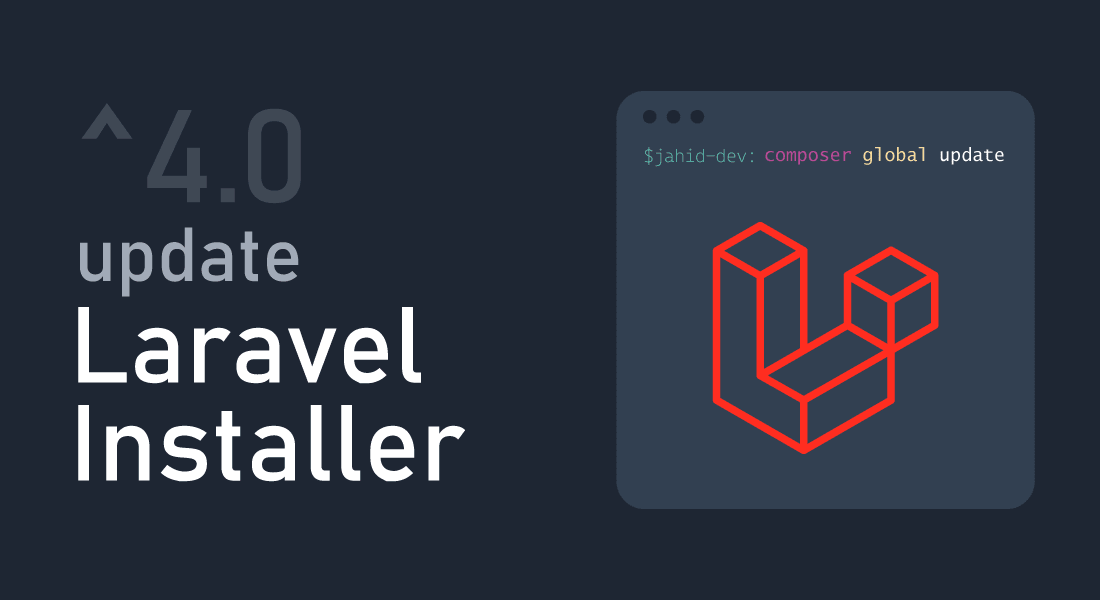 How to update Laravel installer to 4.x or Up