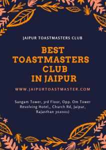 Best toastmasters club in jaipur thumbnail