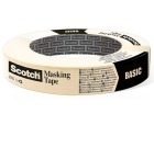 Maskeringstape SCOTCH® 24mmx50m beige