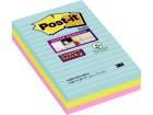 POST-IT® SuperS 101x152mm linjert Miami (3)