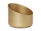 Kubbelysholder Duni 70x85mm Frans gold