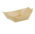 Demoskål PURE tre 8,5x5,5cm båt (50)