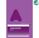 Arbeidsbok EMO A4 rutet 80g 24 blad 10x10 ruter