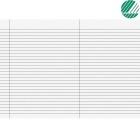 Eksamenspapir A3 Falset marg linjer(250)