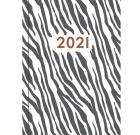 Dagbok GRIEG Libra Colore 2021 Zebra
