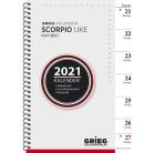 Ukekalender GRIEG Scorpio A5 refill 2021