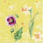 Serviett DUNI 3-Lag 40cm Spring Lilies (250) 192121