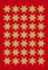 Etikett HERMA dekor gullstjerne ø16mm