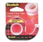 Tape SCOTCH® Crystal 12mmx10m m/dispenser