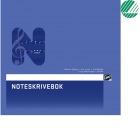 Noteskrivebok 20x21cm 6 linjer 16blad