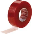 Tape tosidig 25mmx50m Rød  4965