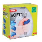 Plaster Soft next 6cm x 4,5m Blått, selvheftende