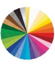 Kartong Ursus A4 220gram 10 farger (120)