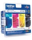 Blekk BROTHER LC1100 Value sort+cmy (4)
