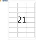 Etikett A4 63,5x38,1mm HERMA 4677