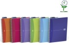 Notatbok OXFORD My Colours A4 Linjert, ass farger