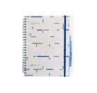 Notatbok A4, med 5 indeks faner 150 blad