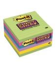 Post-it 102x152mm Super Sticky linjert notatblokk  (3)