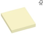 Notatblokk selvklebende  STAPLES 76x76mm gul