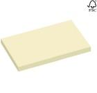 Notatblokk selvklebende  STAPLES 102x76mm gul