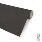 Gavepapir 57cm Sort, brun ribbadkraft 7kg/154m 66003-57
