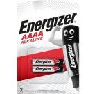 Batteri ENERGIZER Ultra+ Alkalisk AAAA/LR61 (2)
