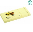 Post-it 38x51mm notatblokk 653 gul (3)