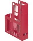 Tidsskriftkassett Collecta A4 rød