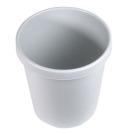 Papirkurv Helit 30 l lys grå