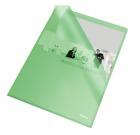 Omslag plast A4 105my Grønn 54838 (100)