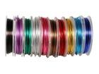 Aluminiumstråd 3 m assorterte farger (10)