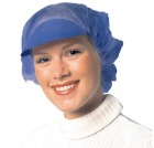 Lue m/papirskjerm, Peaked cap. Blå (1000)