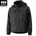 KIRUNA Vinterjakke HH® Helly-Tech®Sort str S