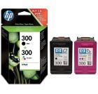 Blekk HP 300 CN637EE 300 sort + frg