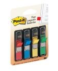 Index Post-it 683-4 refill, rød/gul/blå/grønn