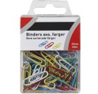 Binders 25mm ass. farger (100)