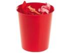 Papirkurv 16 liter STAPLES Rød