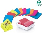 Post-it® SuperS ZN dispenser hvit 76x76mm